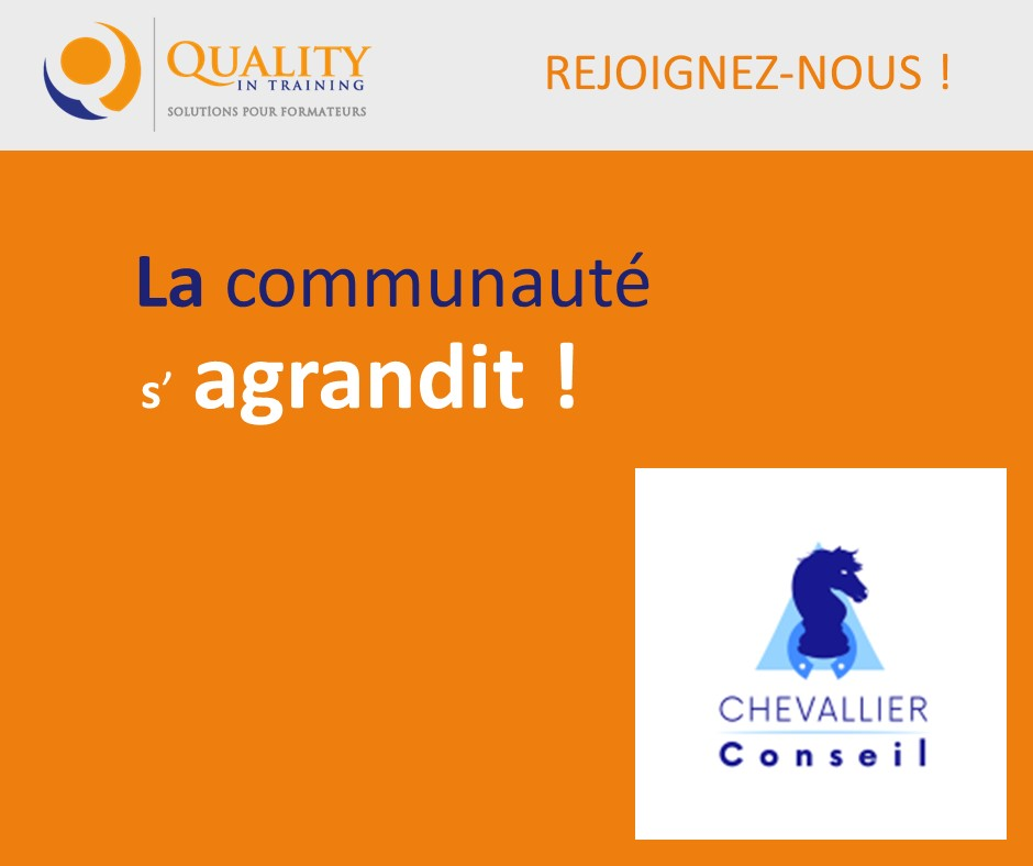 CHEVALLIERconseil choisit Quality in Training